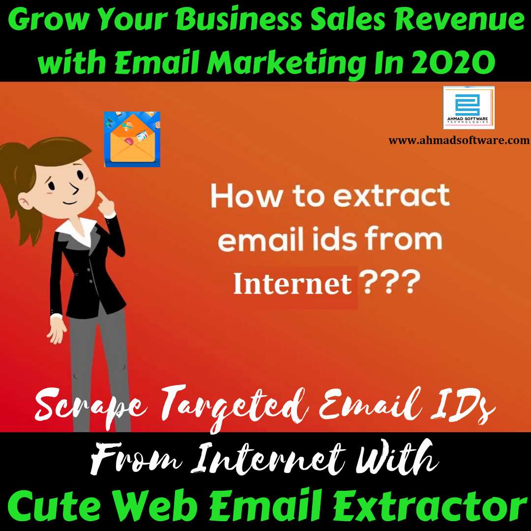 Extract Targeted Emails from Internet In [2020] - Email Extractor
